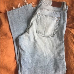 Madewell perfect summer jeans size 29